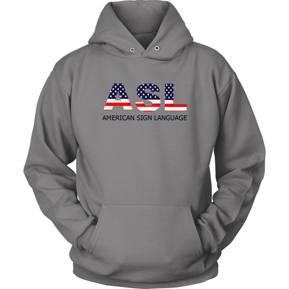 Sign Language Hoodie
