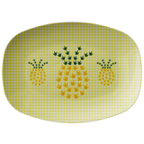 "ASL Merchandise ""ILY Pineapple"" Pattern 10x14 ASL Serving Platter"