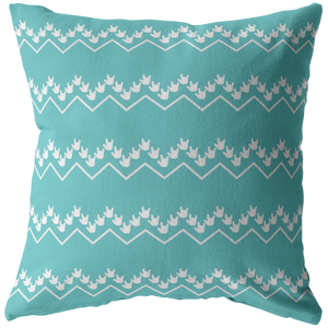 "ASL Home Decor ""ILY Chevron"" ASL Throw Pillow - Multiple Sizes"
