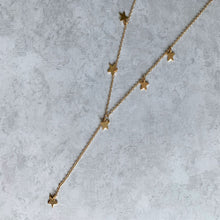 Load image into Gallery viewer, Dripping Star Y Necklace