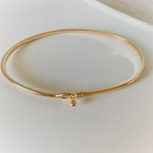 "Inspirational Message ""Life Is A Story"" Skinny Bracelets (Gold & Silver option)"