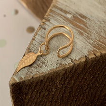 Load image into Gallery viewer, Autumn's Leaf Ear Cuff (Gold & Silver Option)