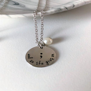 Inspirational Charm Necklaces - 5 different choices