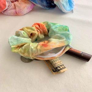 Magic Velvet Hidden Zipper Pocket Scrunchie