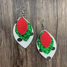 Load image into Gallery viewer, Fun & Sassy Triple Layer Faux Layer Earrings