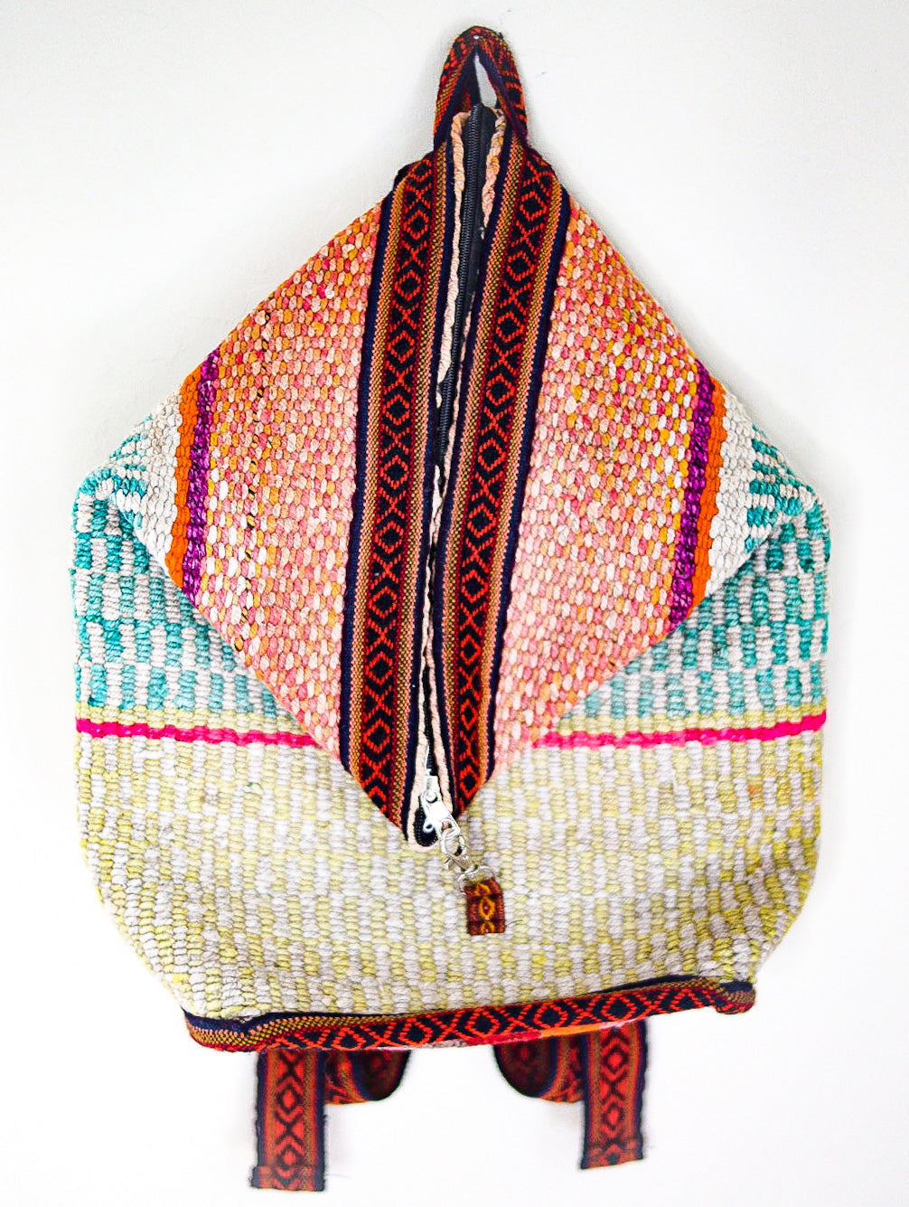Zapotec Handmade Wool Backpack
