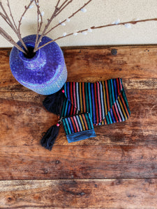 Mexican Handmade Clutch With Coin Purse