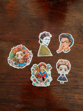 Load image into Gallery viewer, Pack 5 Frida stickers