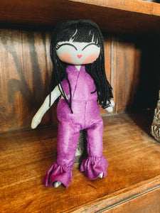 Purple Selena doll
