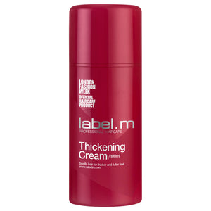 Crema cabellos finos Thickening Cream Label M 100ml. - PDEPELO