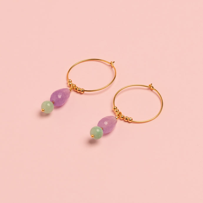Sandra Drop lilac/mint