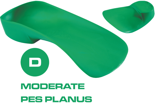 D Quad Foot Orthotics