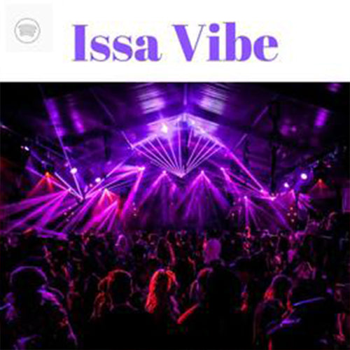 Issa Vibe Spotify Playlist Placement (6000+ Followers)