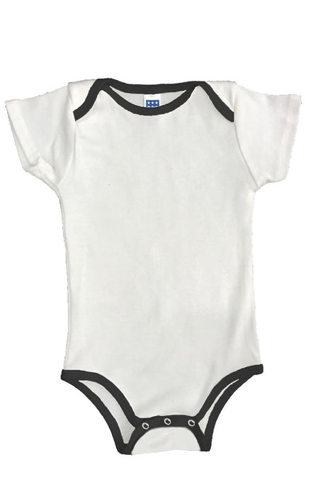 BabyBlend® Infant Organic One Piece with Contrast Binding