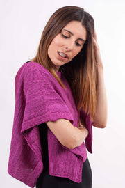 Poncho Abril Lurex - MR Complements