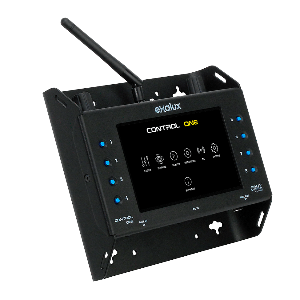 Exalux Control One All-in-one Wireless DMX controller