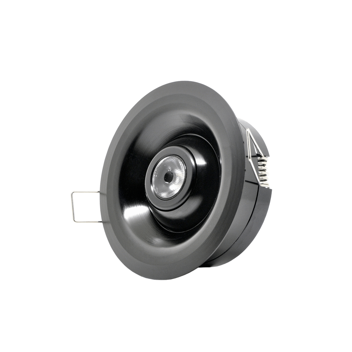 Gantom Fisheye Fixture Trim Spring Mounted