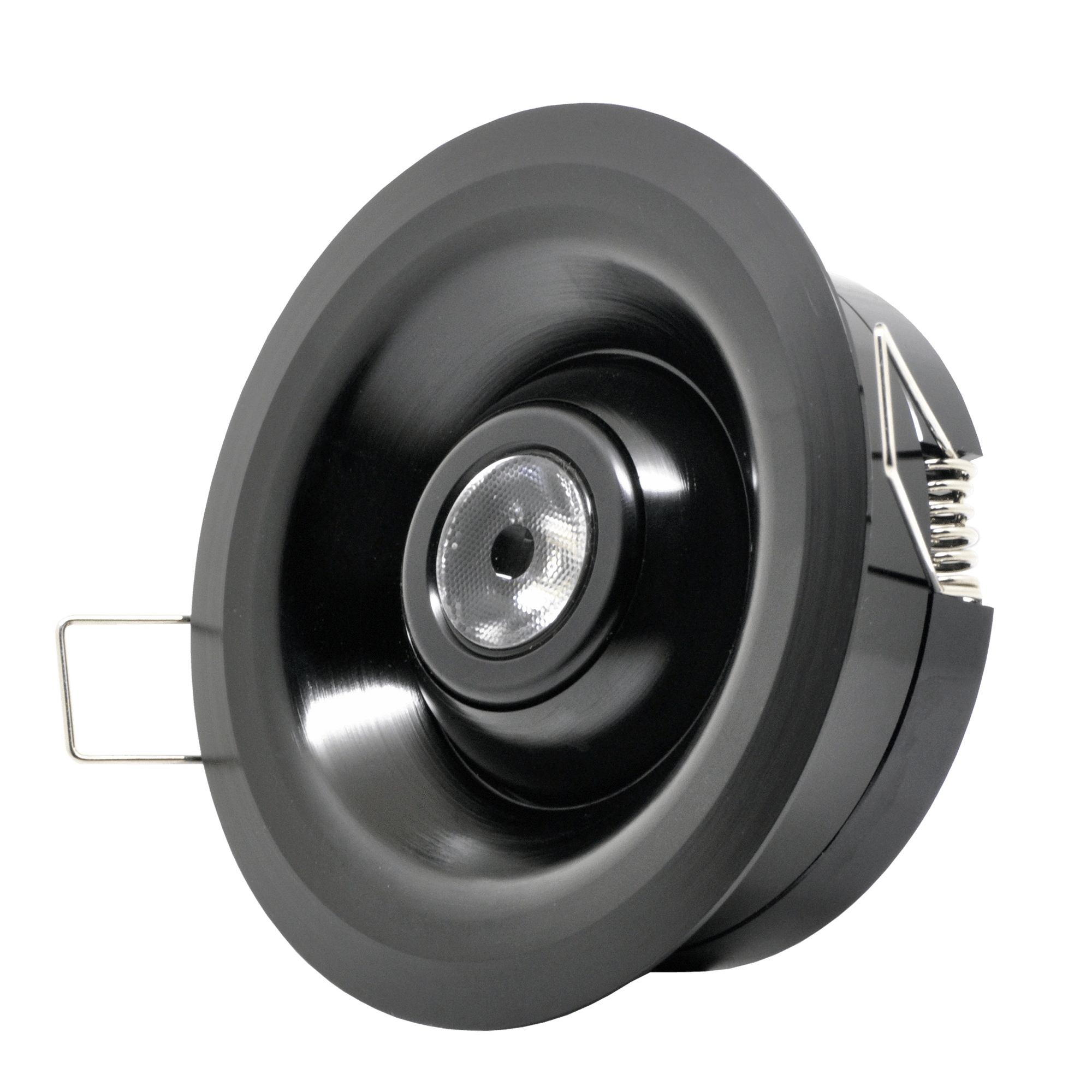 Gantom Recessed Fixture Trim Spring Mounted