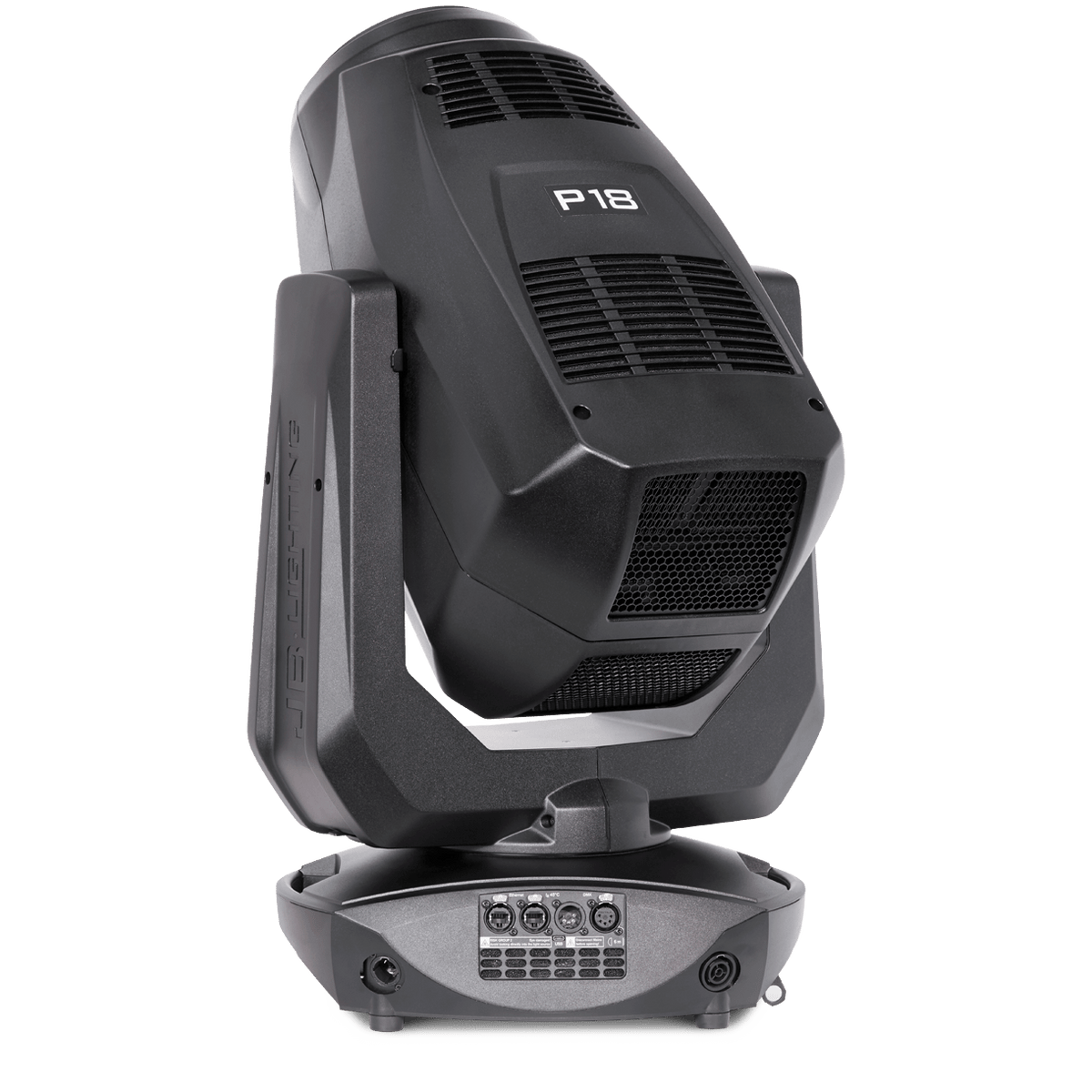 JB-Lighting P18 LED Wash Moving Head 1000w back Angled