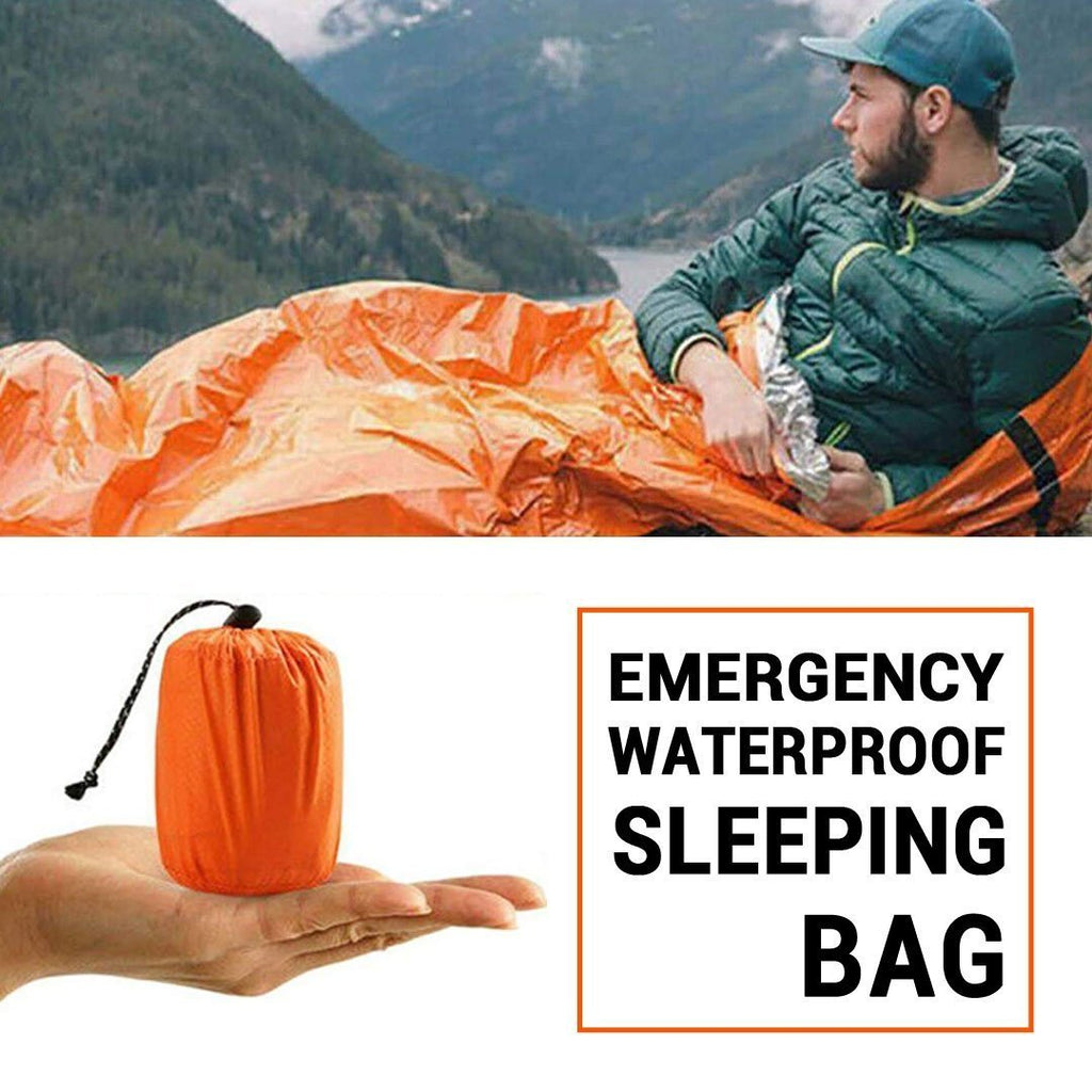 50% OFF Today--Emergency Waterproof Sleeping Bag