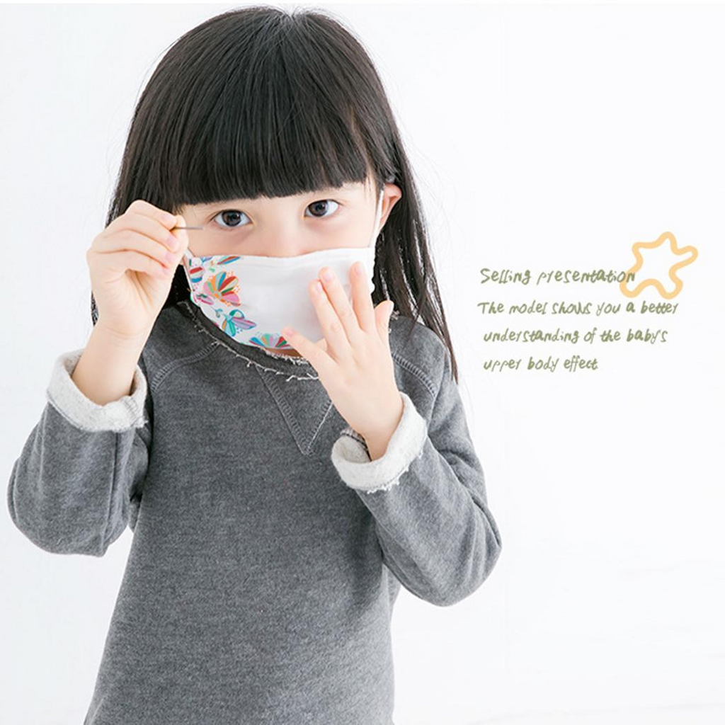 2-4 Children Thin Breathable Anti-dust Face Mask