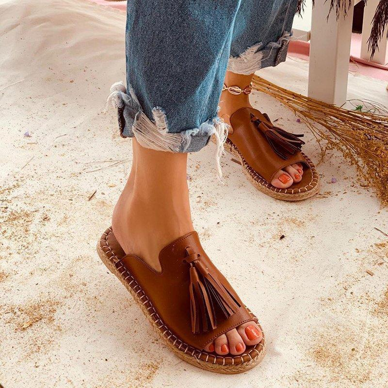 Casual Summer Stylish Slip-On Flat Sandals