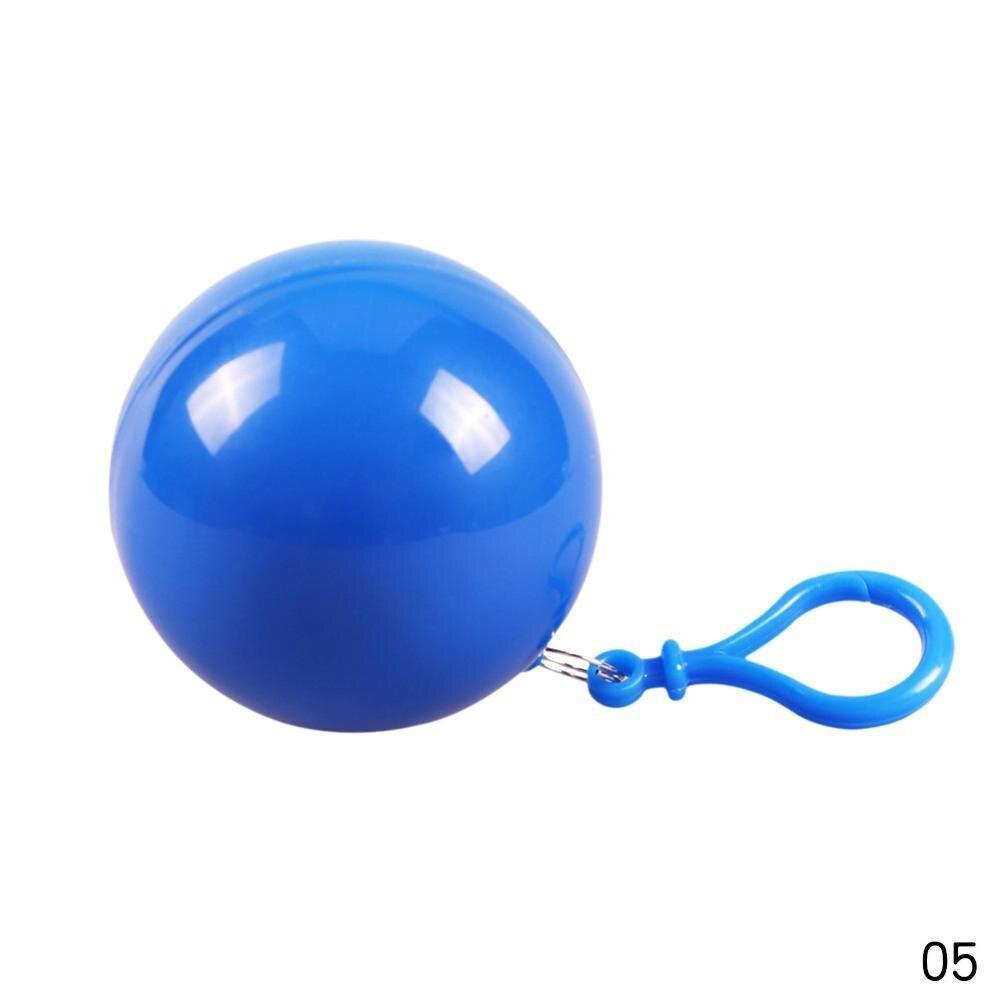Disposable Portable Rain Ponchos Ball