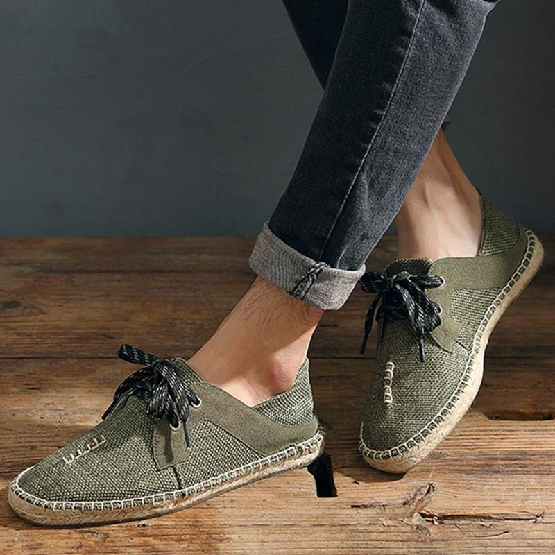 High Quality Unisex Canvas Flats Loafers