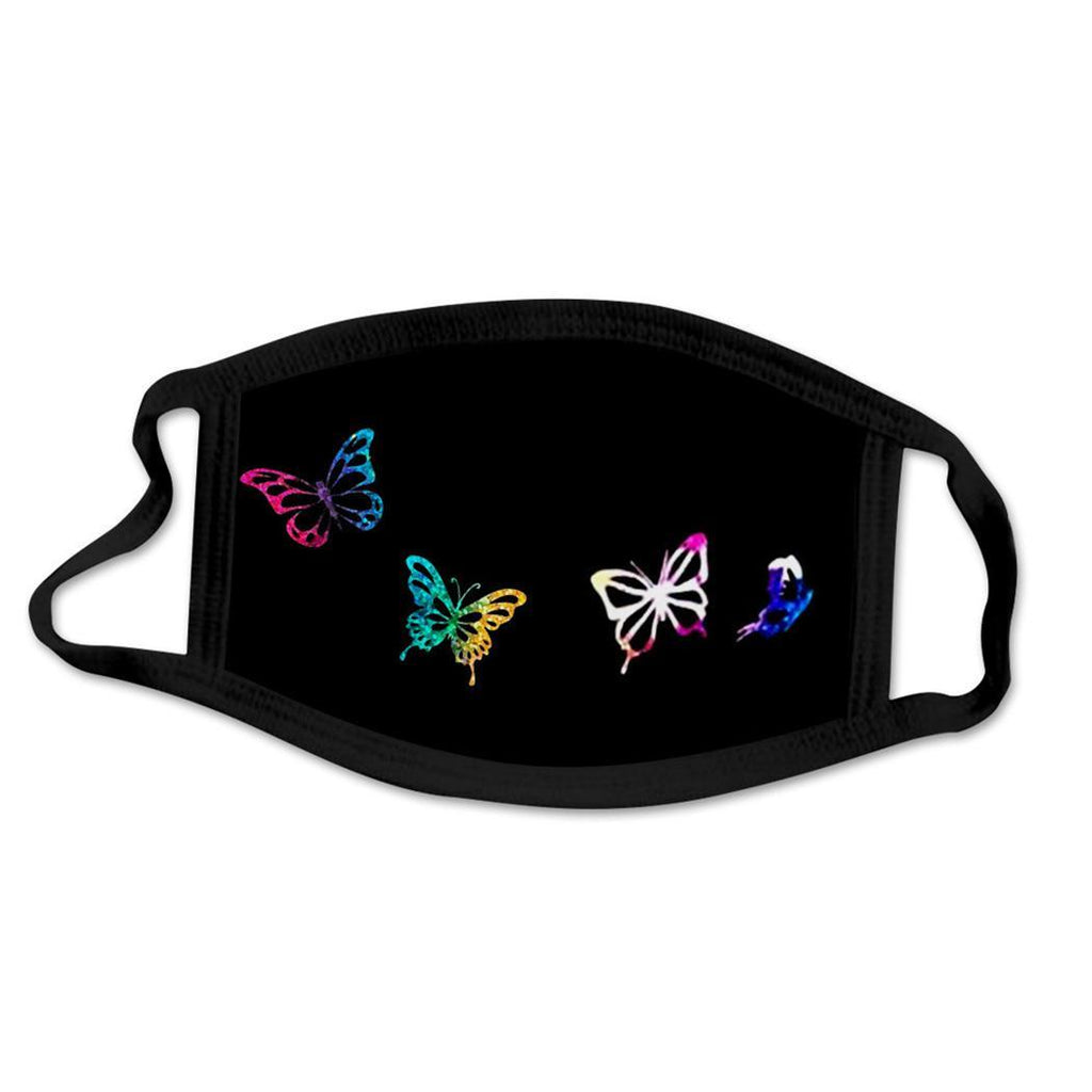 Unisex Butterfly Face Cover Mask