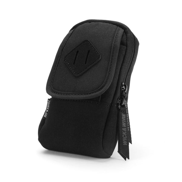 VAPE CASES - PRIMO VAPE CASE (BLACK) - VAPE BAG - MOD HOLDER - WICK AND WIRE BRAND