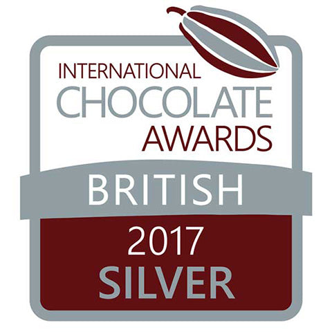 International chocolate Awards British 2017 Silver award