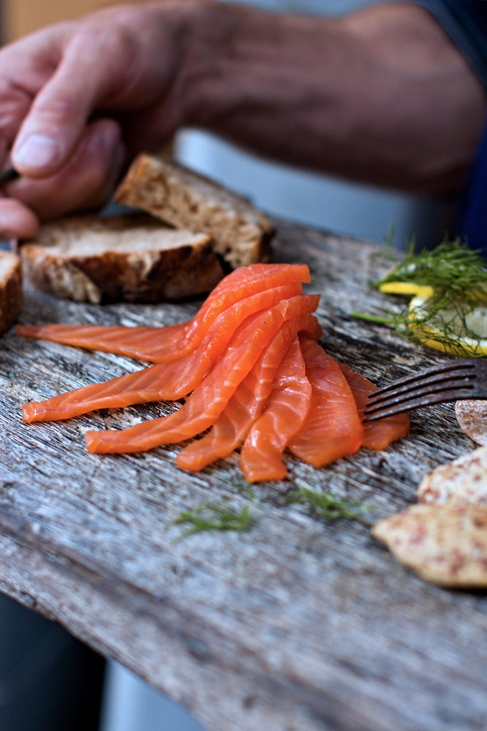 100g Pack - Pre-sliced Cold Smoked Salmon