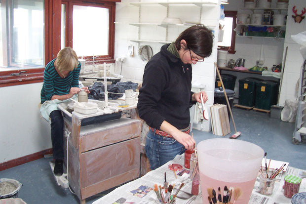 Pottery classes at St. Andrews Pottery
