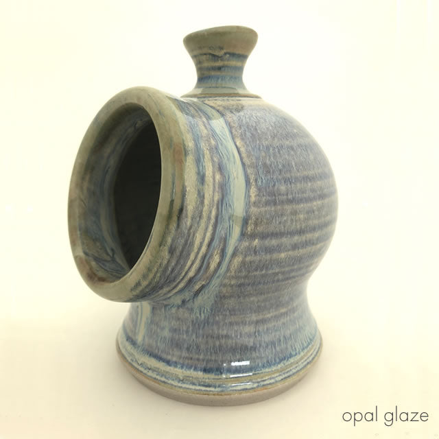 medium salt pig opal glaze