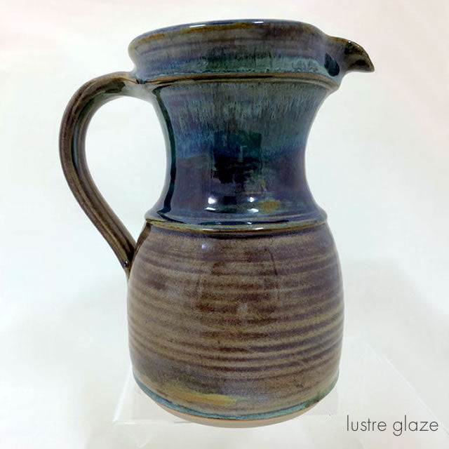 large straight jug lustre