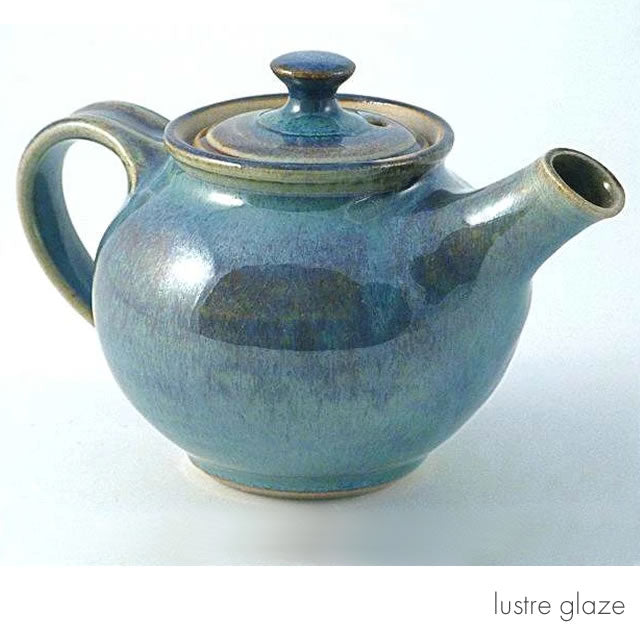 Medium squat teapot