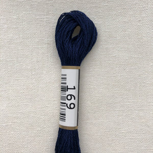 Cosmo, Cotton Embroidery Floss, Dark Navy 169