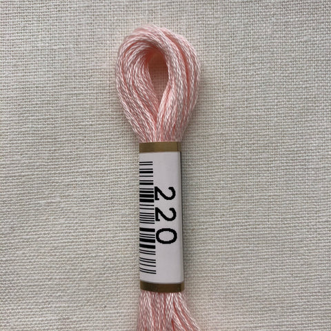 Cosmo, Cotton Embroidery Floss, Pink Dogwood 220