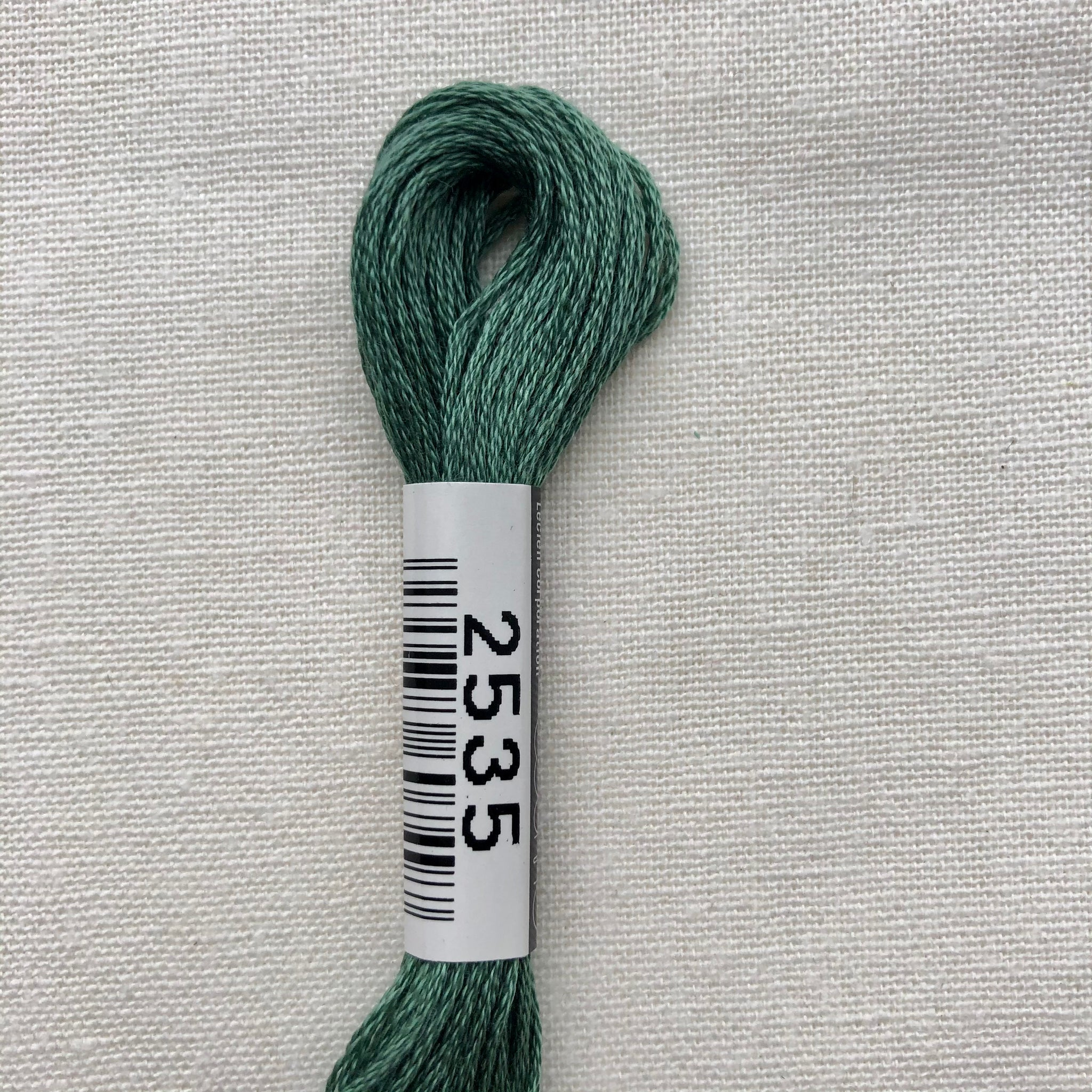 Cosmo, Cotton Embroidery Floss, Elm Green 2535