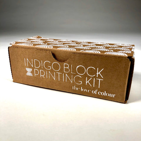 Indigo Block Printing Kit