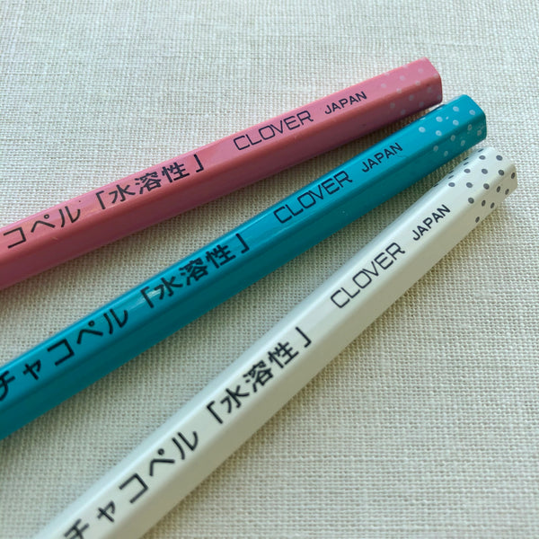 Clover Water Soluble Marking Pencil 3 Pack