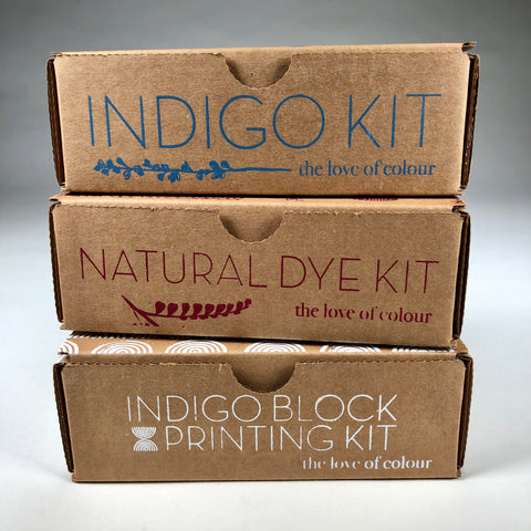 Natural Dye Kit 3 Pack