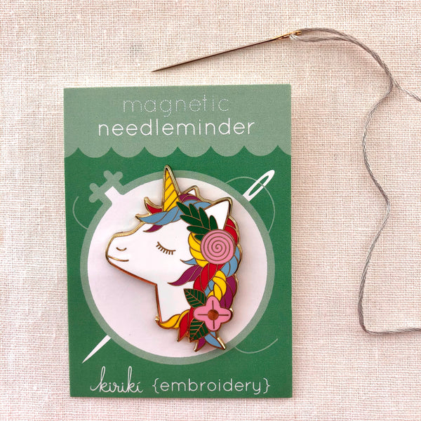 Kiriki Press, Magnetic Needleminder, Unicorn