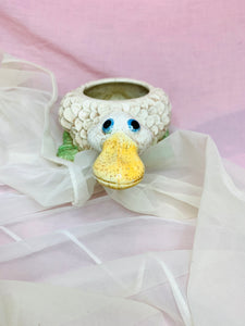 Speckled duck planter
