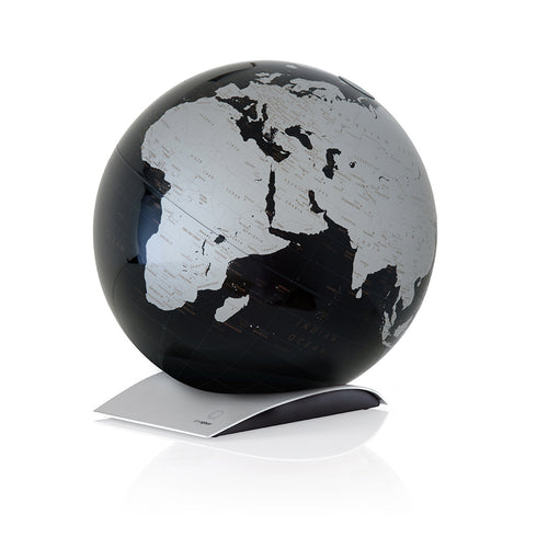 mappamondo - Capital Q Black - yourglobestore