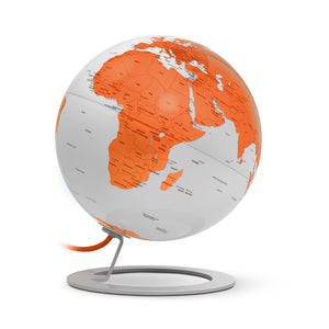 mappamondo - IGLOBE Light Orange - yourglobestore