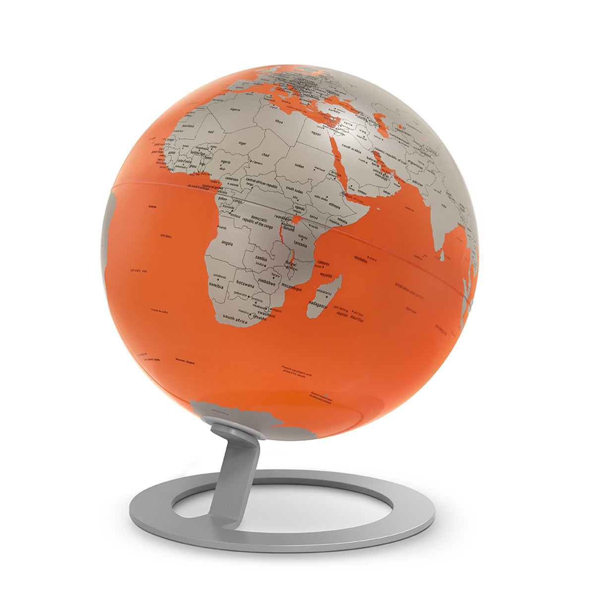 mappamondo - IGLOBE Orange - yourglobestore