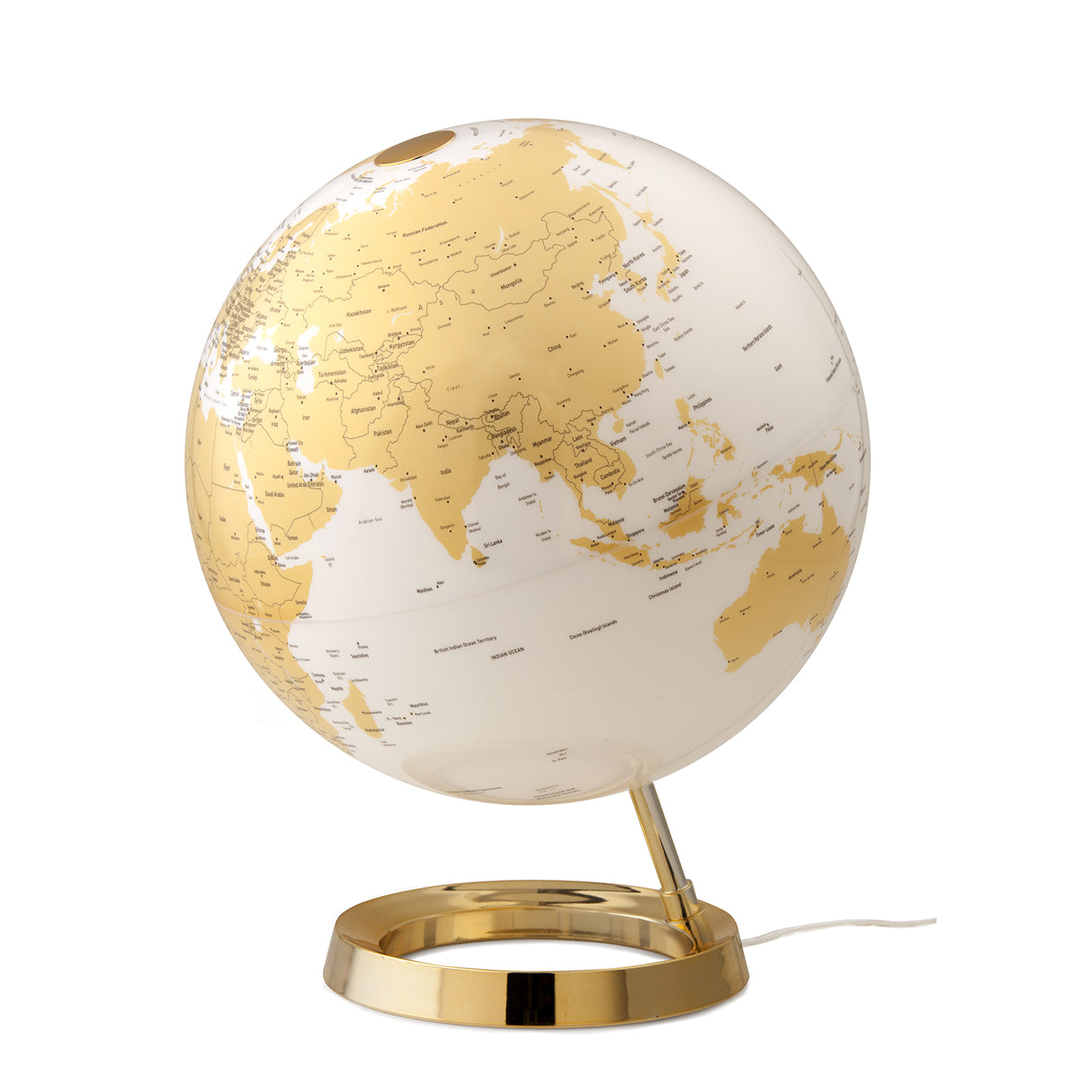 mappamondo - Light & Colour gold - yourglobestore
