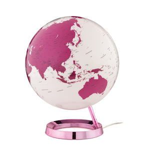 mappamondo - Light & Colour hot pink - yourglobestore