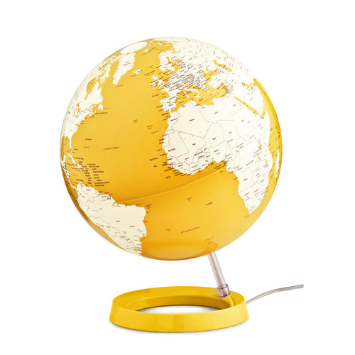 mappamondo - Light & Colour yellow - yourglobestore